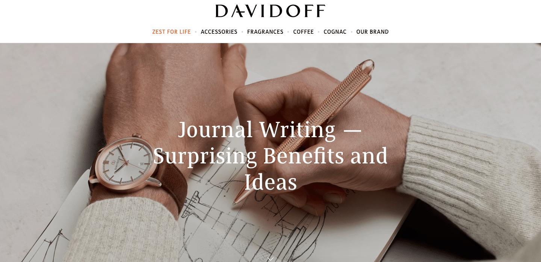 Content Marketing Davidoff